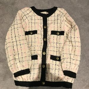 NWT Gucci Cruise 2019 Pink Tweed Oversize Bomber